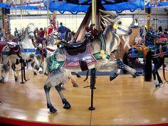 Dentzel Carousel Goat:  Leaping by Foxytocin, via Flickr