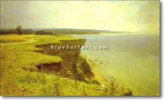 On the Shore of the Gulf of Finland. Udrias Near Narva - £124.99 : Canvas Art, Oil Painting Reproduction, Art Commission, Pop Art, Canvas Painting
