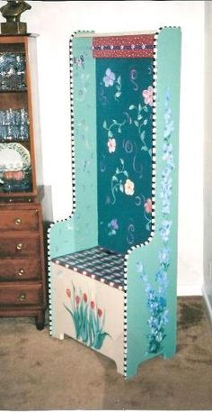 Whimsical Hand Painted Art Furniture | Hand Painted Furniture