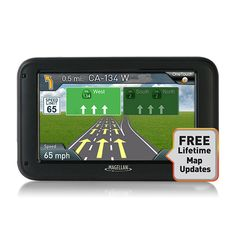 """Magellan RoadMate 5320-LM 5.0"""" Touchscreen Portable North American Maps GPS System with Free Lifetime Updates (Certified Refurbished)"""