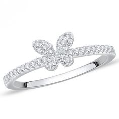 Silver colour and attractive American diamond finger ring. Diamond Finger Ring, Ring Finger, Cute Butterfly, Butterfly Ring, Silver Color, Party Wear, Special Occasion, Engagement Rings, Colour