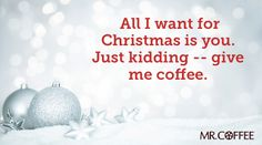 Send your friends a holiday e-card and enter to win a Mr. Coffee Café Latte! #MrCoffeeHolidays #Coffee #Sweepstakes #MrCoffee