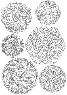 Celtic Circles by dariyan on DeviantArt