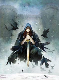 Raven Widow by ~JohnMcCambridge on deviantART