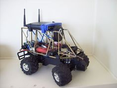 We will be showing you how to build a wifi robot / spybot from scratch. It is a … - News Technology Diy Electronics, Electronics Projects, Computer Projects, Robot Controller, Rc Cars Diy, Diy Robot, Robot Art, Diy Tech, Arduino Projects