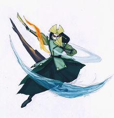 Avatar Kyoshi. by ~ANST2010 on deviantART