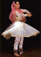 kathak dance costume