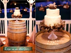 Winery Cake Stand, perfect!!