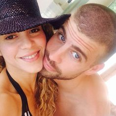 Shakira & Gerard Piqué from Hottest Celeb Couples on Instagram  She's a hip shaking sensation and he's a soccer playing phenomenon. Together, Shakira and beau Gerard Piqué are one hell of a power couple.