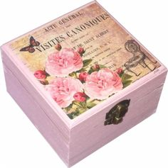 Caixa amb flors