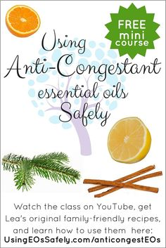 Anti-Congestant Essential Oils | Using Essential Oils Safely  Alternate oils, blends and uses.   Cedarwood and cypress has been great with this on going cough I have had. In two nights I have been able to actually bring up the phlegm that has been stuck.