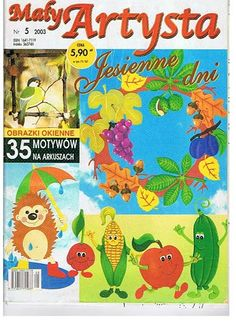 Maly Artysta 2003-5 - jana rakovska - Àlbums web de Picasa Easter Crafts, Christmas Crafts, Autumn Activities For Kids, Magazine Crafts, Magazines For Kids, Painted Books, Tole Painting, Paper Cutting, Crafts To Make