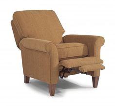 Westside Fabric pushback High-Leg Recliner by #Flexsteel via Flexsteel.com