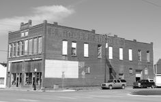 """Stroud Trading Co. Building"" in Stroud Oklahoma  http://route66jp.info Route 66 blog ; http://2441.blog54.fc2.com https://www.facebook.com/groups/529713950495809/"