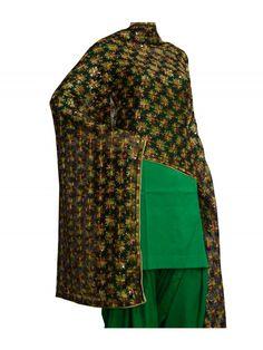 Kanchan Phulkari Dupatta -Kanchan Phulkari Dupatta  -Computerized Phulkari Full Jaal Dupatta  -Faux Chiffon Length – 2.3 Meter  -Wash Care – Regular Soft Wash Shop Now : https://www.punnjab.com/black-kanchan-phulkari-dupatta-jdkn1155