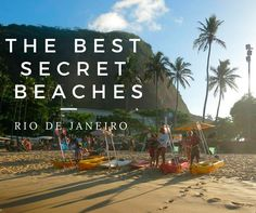 Brazil Travel Tips l The Best Secret Beaches in Rio de Janeiro l @tbproject