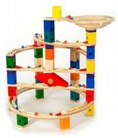 Quadrilla Twist & Rail Set 97 pieces + 50 marbles