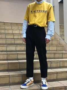 Style indie boy Ideas for 2019 Indie Outfits, Retro Outfits, Grunge Outfits, Boy Outfits, Vintage Outfits, Office Outfits, Boy Fashion, Trendy Fashion, Korean Fashion