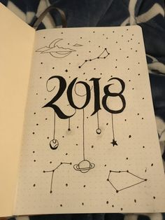Bullet Journal New Year ~ New Beginnings ~ New Bullet Journal Inspiration ~ 2018