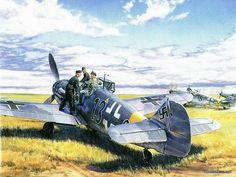Aviation Art : Air Combat Paintings Collection (Vol.01) - Robert Taylor : Air Combat Painting Wallpaper 7