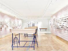 High-quality designer glasses from 175 CHF. ▶ Visit us. Eye Exam, Optician, Minimalist Interior, Designer, Sunnies, Sunglasses, Chf, Interior Design, Style Fashion