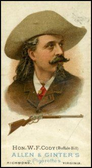 "William ""Buffalo Bill"" Cody - great uncle somewhere down the line"