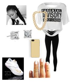 """""""Chilling wit ur friends"""" by ghettogirl19 ❤ liked on Polyvore featuring Solow, NIKE, Michael Kors, Zero Gravity and Blue Nile"""