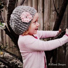 Télécharger  CROCHET PATTERN Gracie Hat  bébé à par hollanddesigns, $5.50