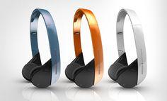 Samsung Bluetooth Headset by intenxiv Inc., via Behance