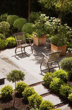 Barbara Chambers Architect home garden Mill Valley ; Gardenista