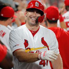 Cardinals Players, Cardinals Baseball, St Louis Cardinals, Football And Basketball, Softball, Paul Goldschmidt, St Louis Baseball, Baseball Cards, Sports