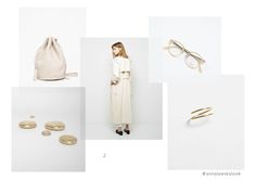 earring and ring - nini - Anna Lawska Jewellery / collection - back to basic -