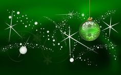 christmas backgrounds  | Green Christmas - Backgrounds, Wallpapers, Pictures, Pics, Photos ...