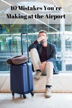 Here are our expert tips on making it out of the airport, and onto your plane. travel tips 10 Mistakes You're Making at the Airport Air Travel Tips, Travel Packing, Travel Advice, Travel Hacks, Travel Essentials, Travel Ideas, Budget Travel, Air Travel Outfits, Travel Quotes