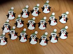 adorable Christmas penguins from owl punch