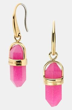 Michael Kors Seaside Luxe Stone Drop Earrings | Nordstrom | CostMad do not sell this item/idea but have lots of great ideas and products for sale please click below
