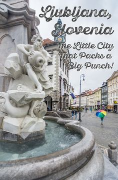 Wander the cobblestone streets of Ljubaljana, Slovenia, ducking into the cute shops and cafes that line the pedestrian walkway and then head up to the castle that looms over the city for breathtaking views.  via @wanderingwheatleys