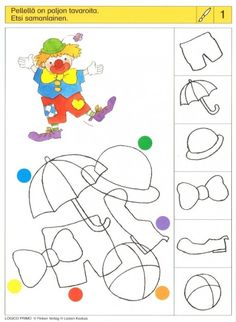 Piccolo: penseel kaart 1 Early Education, Kids Education, Special Education, Educational Games For Kids, Kids Learning, Reception Class, Sequencing Cards, Pediatric Ot, Coding For Kids