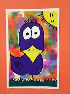 Serendipity Art Studio: Funky Birds Inspired by Artist James Rizzi