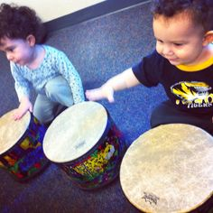 My babies at their first music class!
