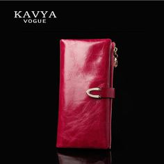 KAVYA Fashion Trends New Women Wallets Heart-Shaped Multi-card Position Two Fold Wallet Lady Clutch Long Section Purse Free Ship