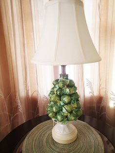 Italian Majolica lime fruit topiary by MyRetroRecollections