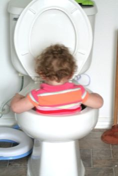 Totally would have taken a pic also before retrieving my kid out of the toilet. Hilarious!