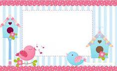 Resultado de imagen para tarjetas para imprimir de pajaritos