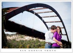 save the date photo idea austin 360 bridge