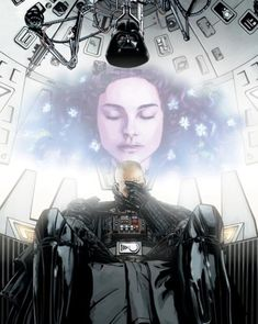 """Attachment is forbidden. Possession is forbidden. Compassion, which I would define as unconditional love, is essential to a Jedi's life. So you might say, that we are encouraged to love."" -- Anakin Skywalker, Darth Vader"