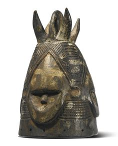Gola Helmet Mask, Liberia Estimate  15,000 — 25,000  USD  LOT SOLD. 13,750 USD