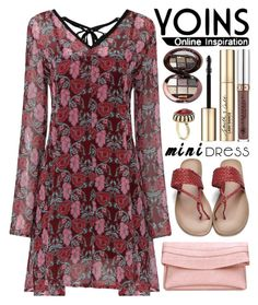 """""""Yoins (26)"""" by itsybitsy62 ❤ liked on Polyvore featuring Smith & Cult, Anastasia Beverly Hills, minidress, yoins, yoinscollection and loveyoins"""