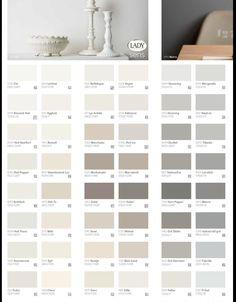 Fargekart jotun Skandinavisk lys - muskattnøtt - sand