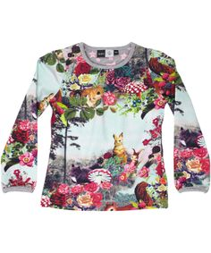 Molo great down in the woods blouse #emilea Gorgeous colorful printed top, easy to combine